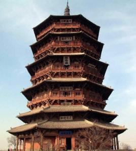 因底层为重檐并有回廊,故塔的外观为六层屋檐.图片