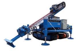 锚杆钻机按结构分为单体式,钻车式,机载式;按动力分为电动式,气动式图片