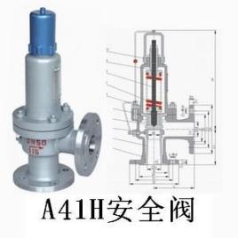 a41h安全阀是一种安全保护用阀,它的启闭件受外力作用下处于常闭状态图片