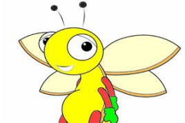 你真是一只害羞的小蜜蜂图片