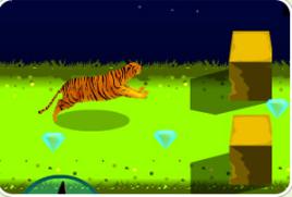 老虎快快跑图片