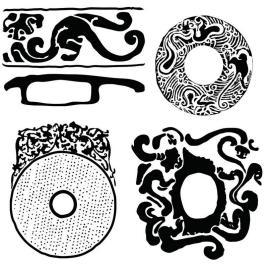 龙纹(传统纹饰)图片