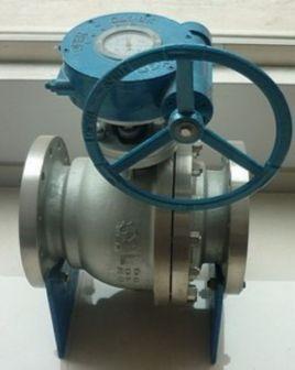 涡轮不锈钢球阀分类:不锈钢气动球阀,不锈钢电动球阀,不锈钢手动球阀.图片