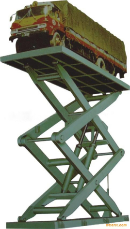 汽车升降机图片