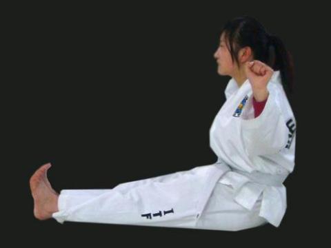跆拳道腿法教学视频