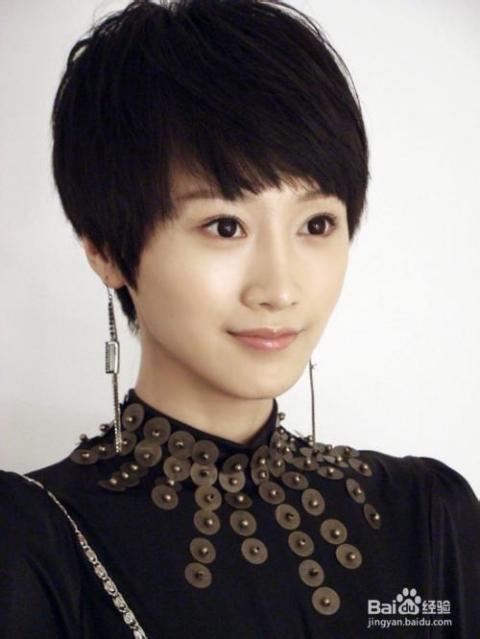时尚短发发型图片女图片