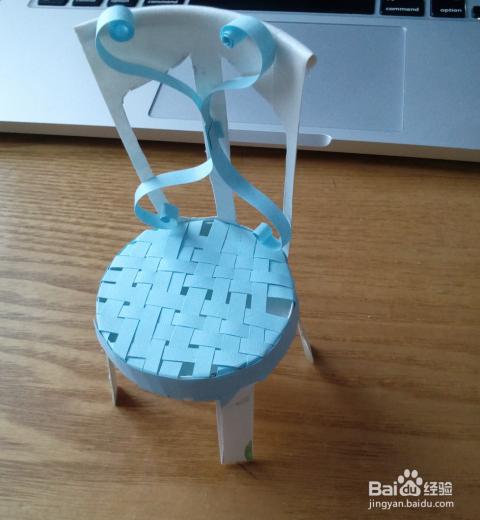 用一次性纸杯做工艺品-小椅子_手工艺_百度经验图片