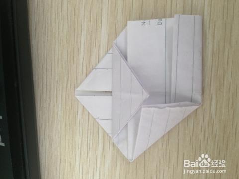 心形状信纸折法图片