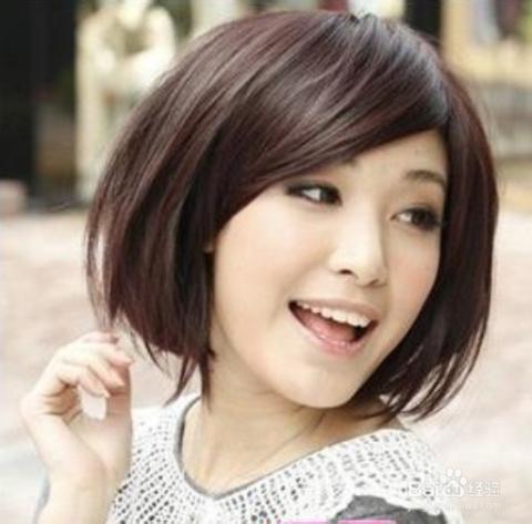 适合学生的短发发型图片