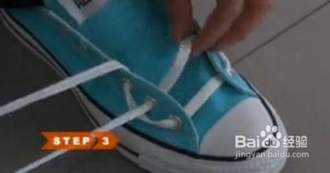如何系板鞋鞋带之自行车鞋带系法图片