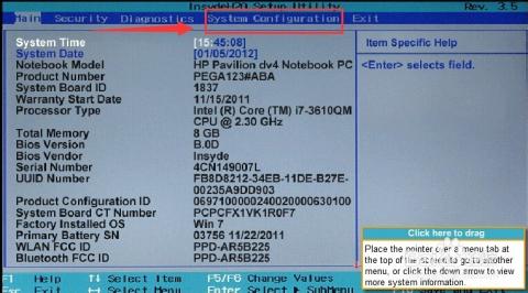 惠普商用笔记本,h2o bios如何设置风扇一直运转_电脑图片
