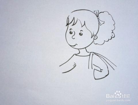 儿童趣味创意画:[15]简笔画《妈妈我要抱》_小学_百度图片