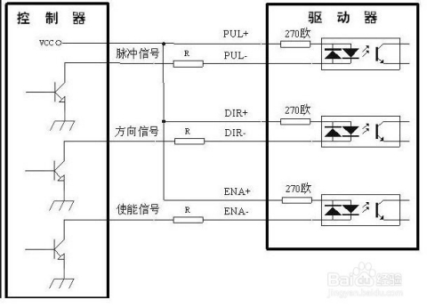 步进电机驱动器接线方法介绍图片