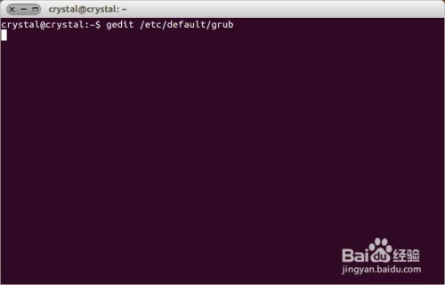 修改 ubuntu 默认启动项