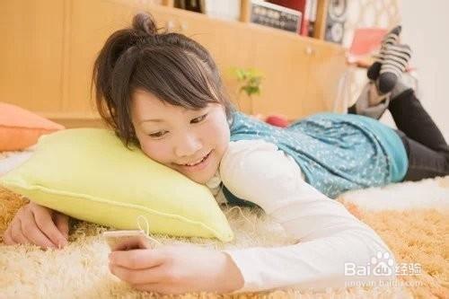 人躺在床上的图片卡通