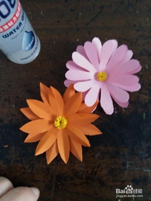 立体纸花制作方法图解
