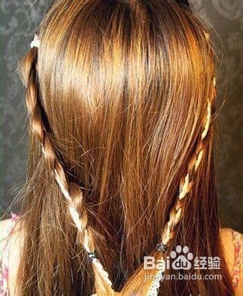 长头发怎么扎好看图片