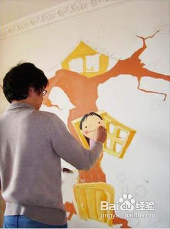 浅谈墙体彩绘流程