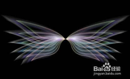 ps如何制作绚丽荧光的翅膀