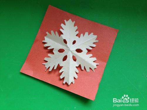 幼儿园雪花剪纸步骤