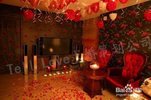 简单实用的室内求婚创意图片
