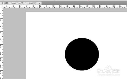 ps怎么画圆圈