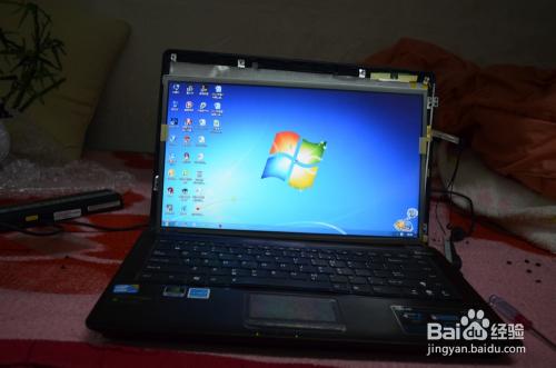 笔记本电脑屏幕损坏自己动手换屏教程