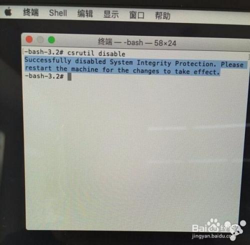 ootcamp安装windows失败的解决办法