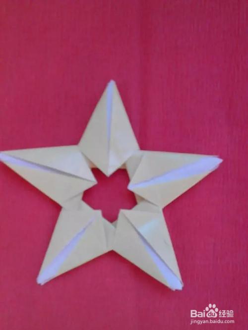 折纸漂亮的五角星图片