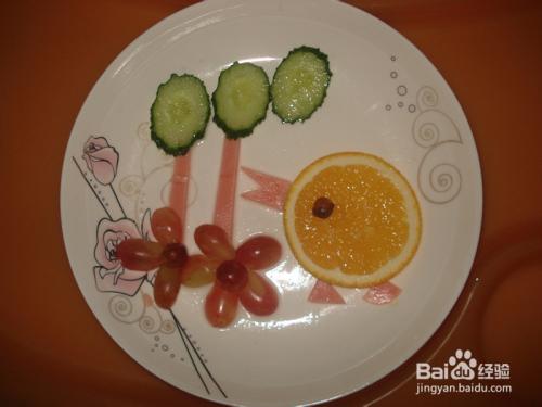 宝宝创意水果餐图片