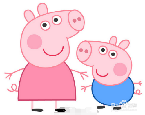 小猪佩奇怎么画图片