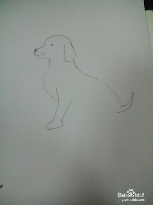 绘画之 简笔画狗