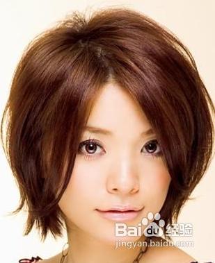 经典短头发造型图片