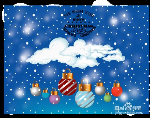 英文圣诞贺卡制作