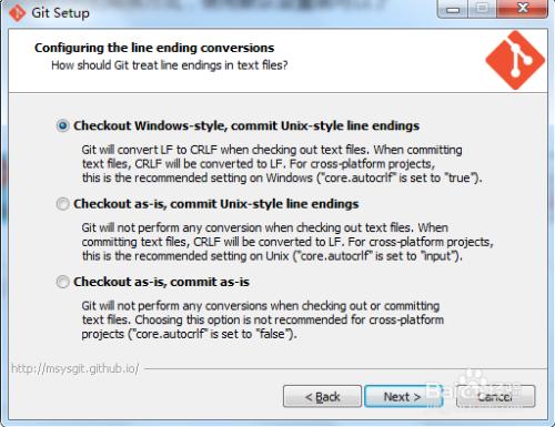 Windows下msysGit安装