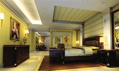家具方面,刘秋亭说,简欧风格所搭配的家具,最好配有西方复古图案图片