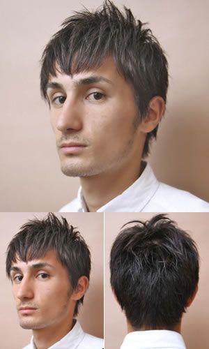发型,非要男生长发,此款短发图片