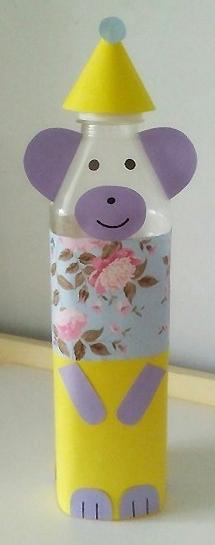 制作矿泉水瓶手工制作有趣的小熊摆件做法