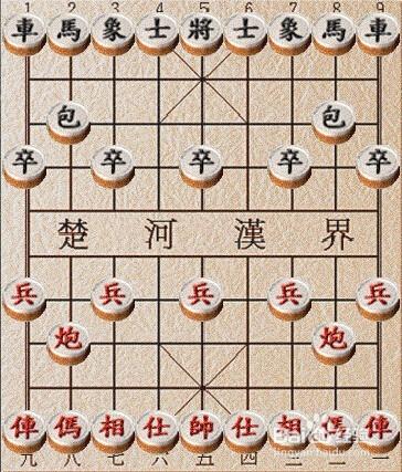 中国象棋如何玩图片