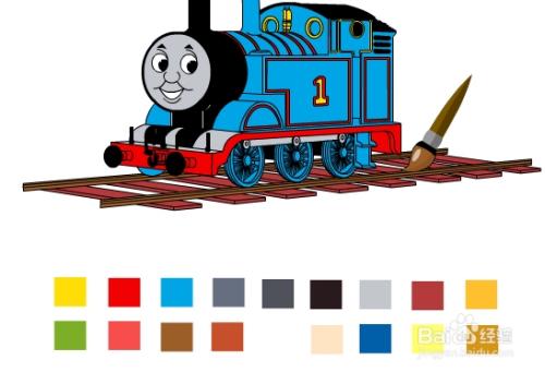 托马斯小火车涂鸦游戏攻略图片