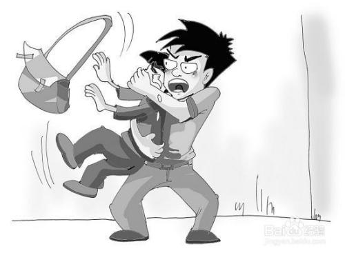 漫画中的绑架片段