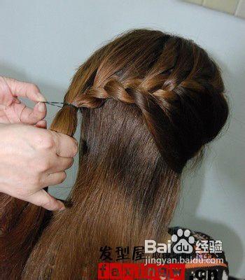 教你扎女生最简单好看的发型图片