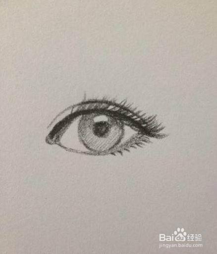 怎么画眼睛,漂亮眼睛的画法图片