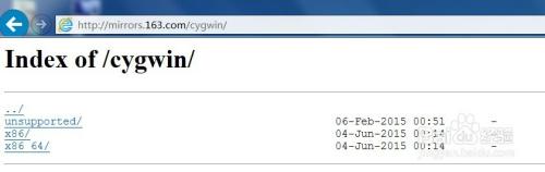 Win7 安装cygwin 应该如何选择包