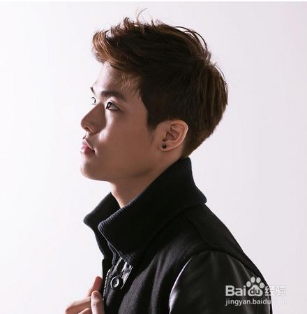 韩式男生帅气短发
