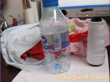 矿泉水瓶废物利用diy手工制作笔筒图片