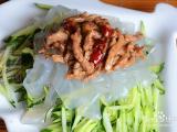 夏季开胃菜——肉丝拉皮