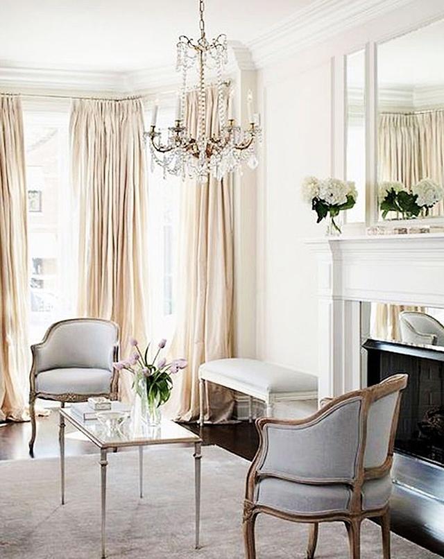 经典法式客厅案例,诠释流金岁月图片