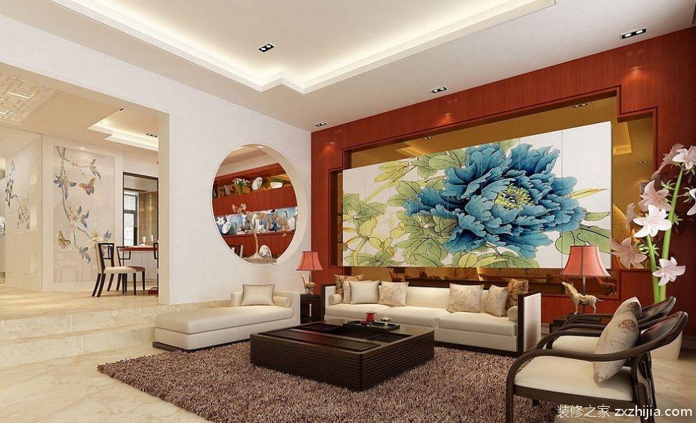 欧式客厅电视背景墙装修设计图片_装修之家装修效果图图片