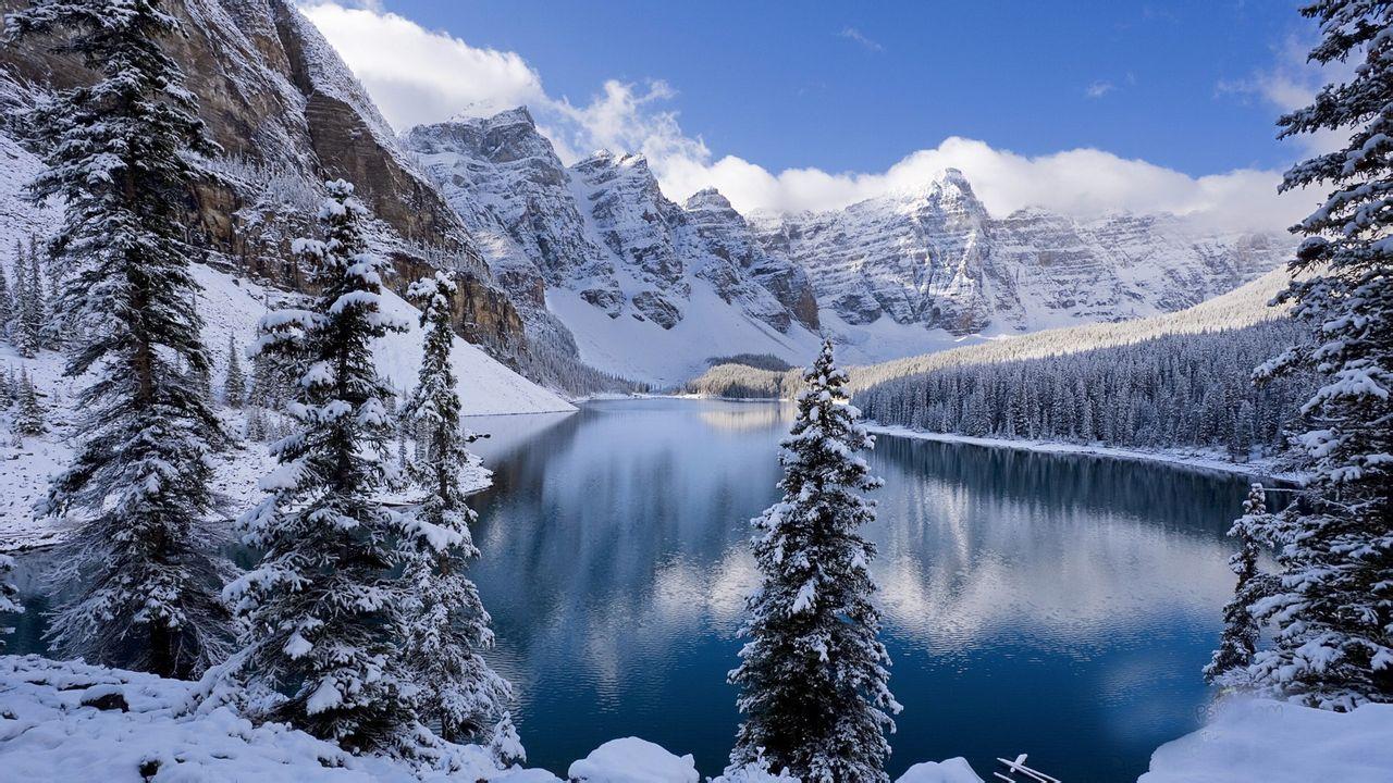 雪景桌面壁纸 1920 1080图片